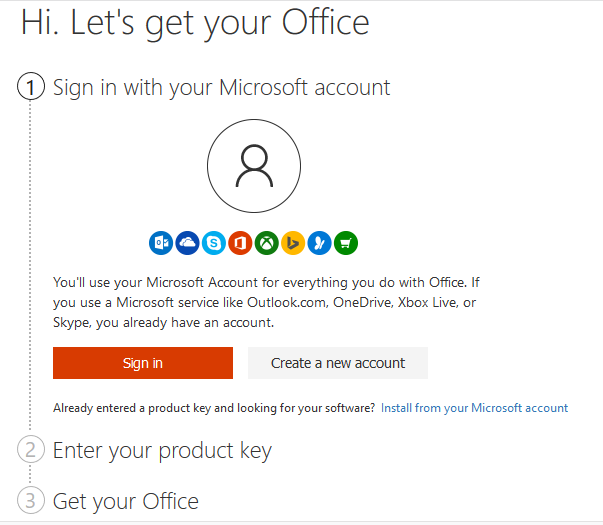 microsoft office re-enter product key
