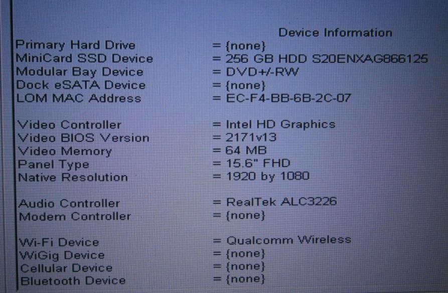 E6540 mSata support - Dell Community